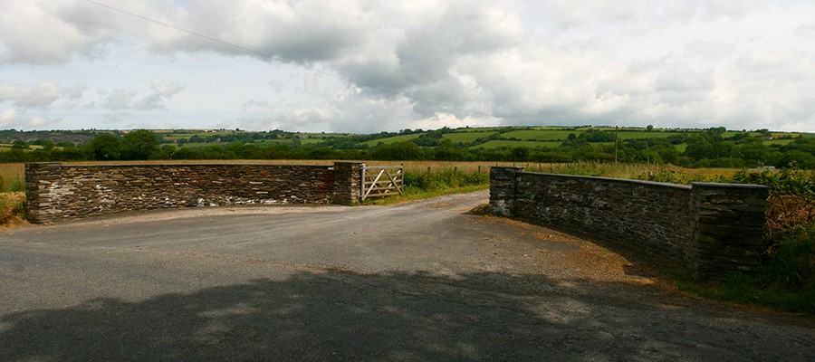 Cefn Du Holiday Cottages - Entrance